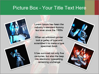 Female Robot PowerPoint Template - Slide 24