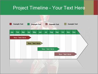 Female Robot PowerPoint Template - Slide 25