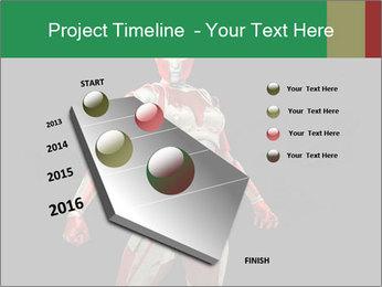 Female Robot PowerPoint Template - Slide 26