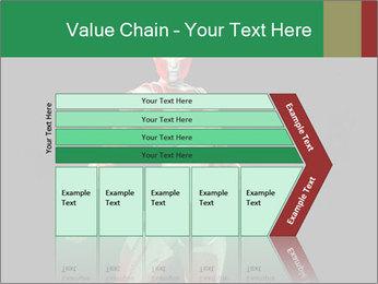 Female Robot PowerPoint Template - Slide 27