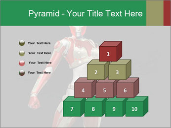 Female Robot PowerPoint Template - Slide 31