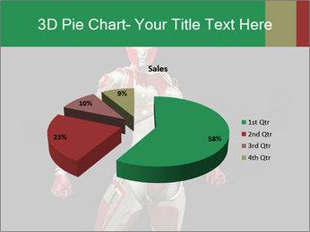Female Robot PowerPoint Template - Slide 35