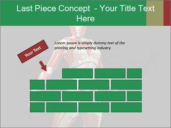Female Robot PowerPoint Template - Slide 46