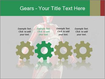Female Robot PowerPoint Template - Slide 48