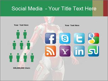 Female Robot PowerPoint Templates - Slide 5
