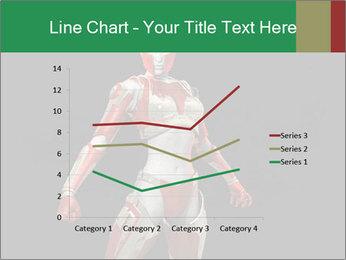 Female Robot PowerPoint Template - Slide 54