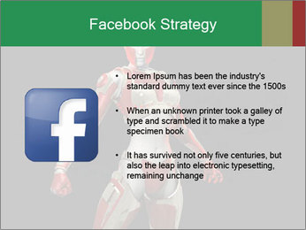 Female Robot PowerPoint Template - Slide 6