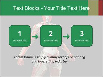 Female Robot PowerPoint Template - Slide 71