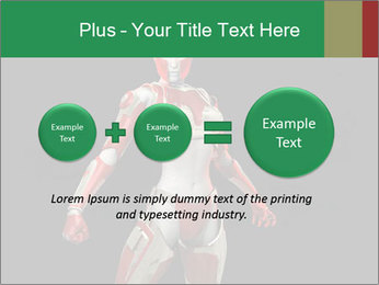 Female Robot PowerPoint Template - Slide 75