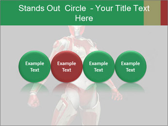 Female Robot PowerPoint Template - Slide 76