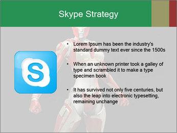 Female Robot PowerPoint Template - Slide 8