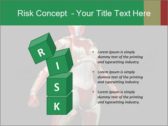 Female Robot PowerPoint Template - Slide 81