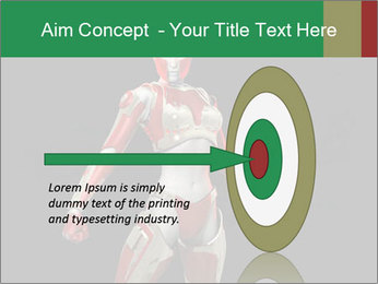 Female Robot PowerPoint Template - Slide 83