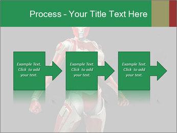 Female Robot PowerPoint Template - Slide 88