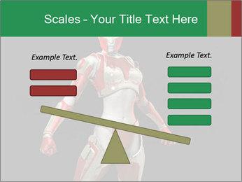 Female Robot PowerPoint Template - Slide 89