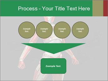 Female Robot PowerPoint Template - Slide 93