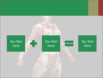 Female Robot PowerPoint Template - Slide 95