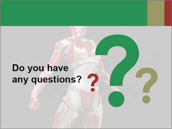 Female Robot PowerPoint Template - Slide 96