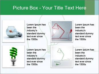 Green Bulb PowerPoint Template - Slide 14