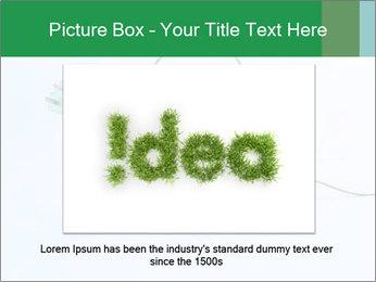 Green Bulb PowerPoint Template - Slide 16