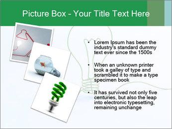 Green Bulb PowerPoint Template - Slide 17