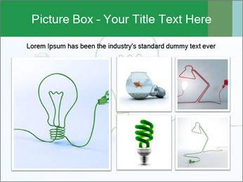 Green Bulb PowerPoint Template - Slide 19