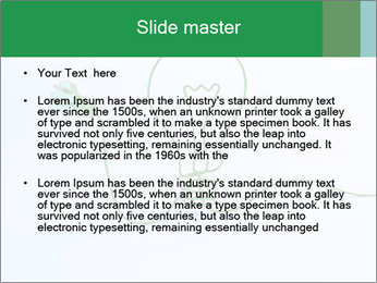 Green Bulb PowerPoint Template - Slide 2