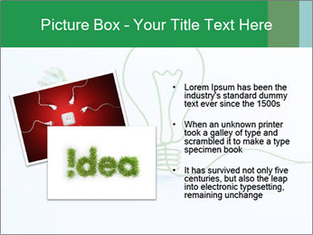 Green Bulb PowerPoint Template - Slide 20