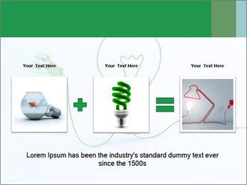 Green Bulb PowerPoint Template - Slide 22