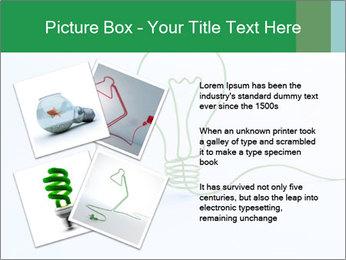 Green Bulb PowerPoint Template - Slide 23