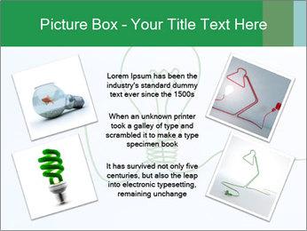 Green Bulb PowerPoint Template - Slide 24