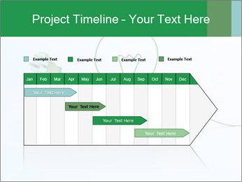 Green Bulb PowerPoint Template - Slide 25