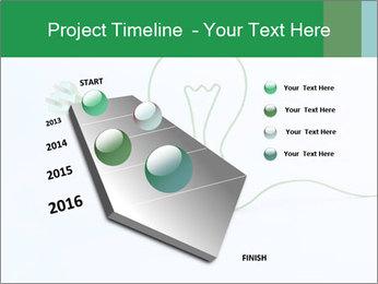 Green Bulb PowerPoint Template - Slide 26