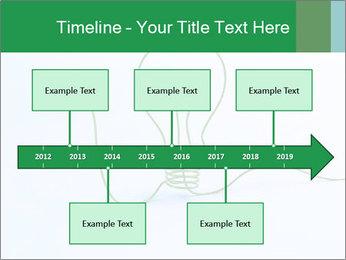 Green Bulb PowerPoint Template - Slide 28