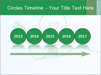 Green Bulb PowerPoint Template - Slide 29