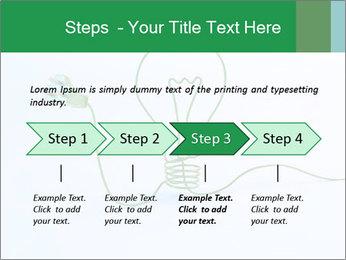 Green Bulb PowerPoint Template - Slide 4