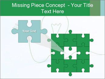 Green Bulb PowerPoint Template - Slide 45