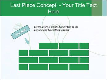 Green Bulb PowerPoint Template - Slide 46