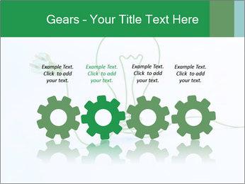 Green Bulb PowerPoint Template - Slide 48