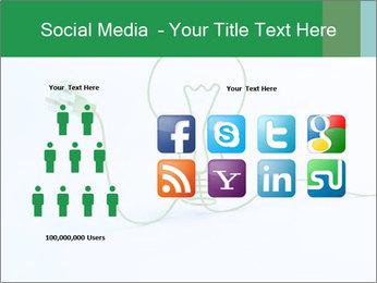 Green Bulb PowerPoint Template - Slide 5