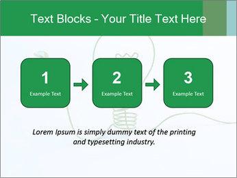 Green Bulb PowerPoint Template - Slide 71