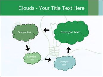 Green Bulb PowerPoint Template - Slide 72