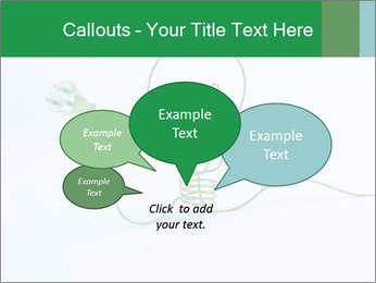 Green Bulb PowerPoint Template - Slide 73