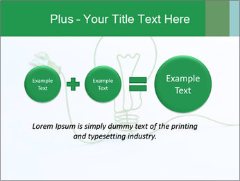 Green Bulb PowerPoint Template - Slide 75