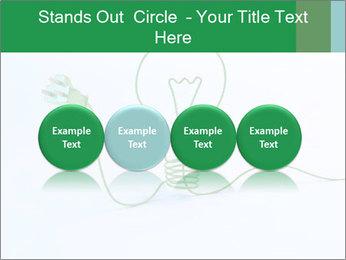 Green Bulb PowerPoint Template - Slide 76