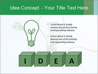 Green Bulb PowerPoint Template - Slide 80