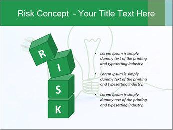 Green Bulb PowerPoint Template - Slide 81