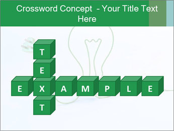 Green Bulb PowerPoint Template - Slide 82