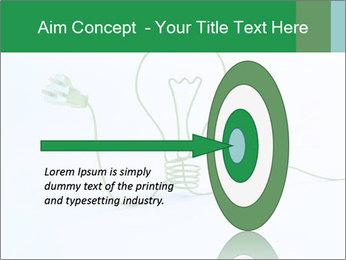 Green Bulb PowerPoint Template - Slide 83