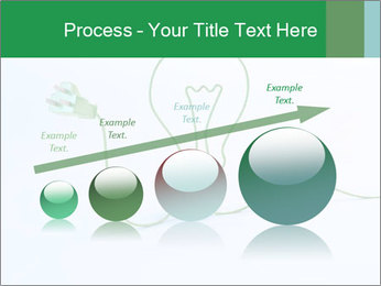 Green Bulb PowerPoint Template - Slide 87